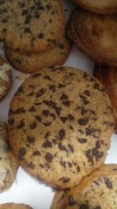 Palmiers, cookies, madeleines et cakes